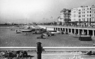 Brighton, Beach East From Pier c.1955