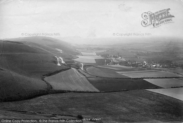 Brighton, Chanctonbury Ring From Devil's Dyke 1894