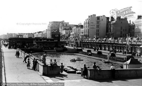 Brighton, Childrens Boating Pool c.1955