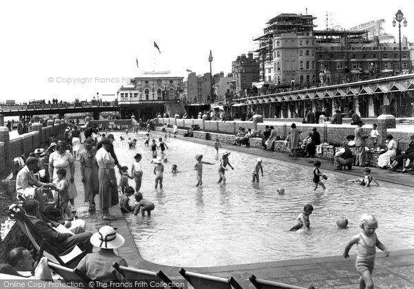 Brighton, Childrens Pool c.1935