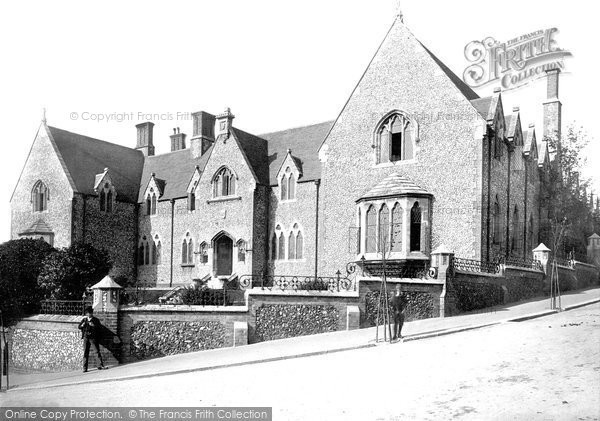 Brighton, Ditching Road Training College 1891