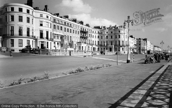 Photo of Brighton, Eastern Terrace c1955