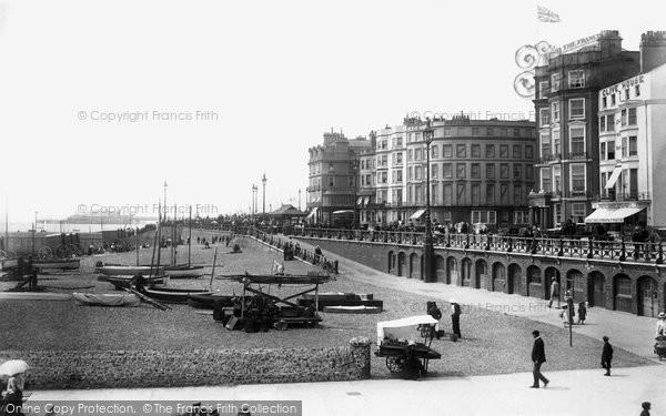 Brighton, From Palace Pier 1902