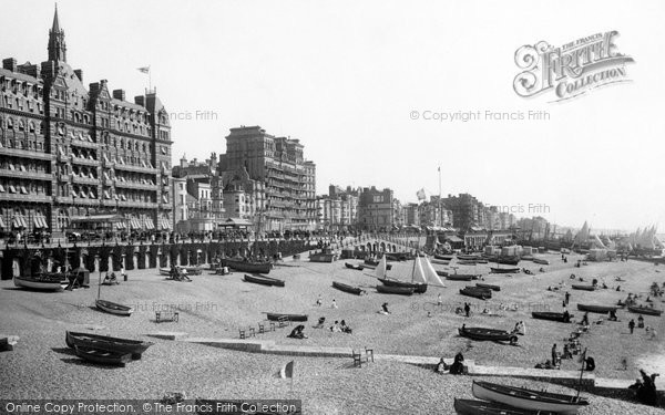 Brighton, From The Pier 1890