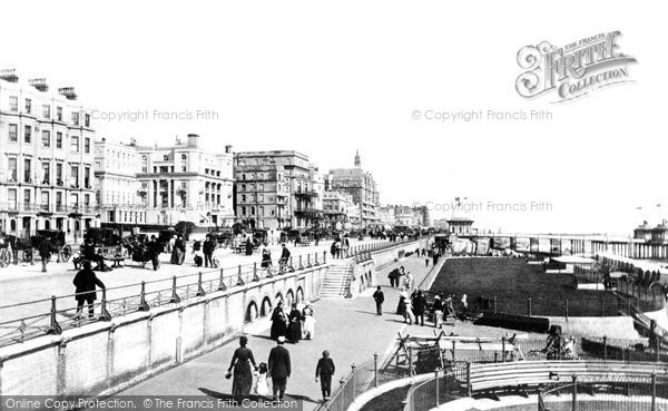 Brighton, King's Road 1890