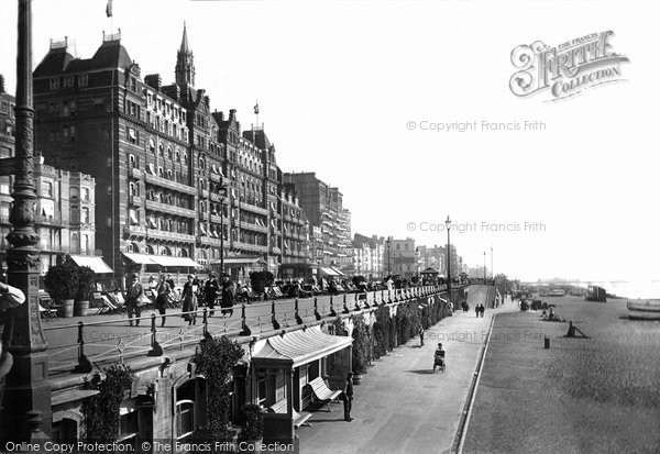 Brighton, King's Road 1921