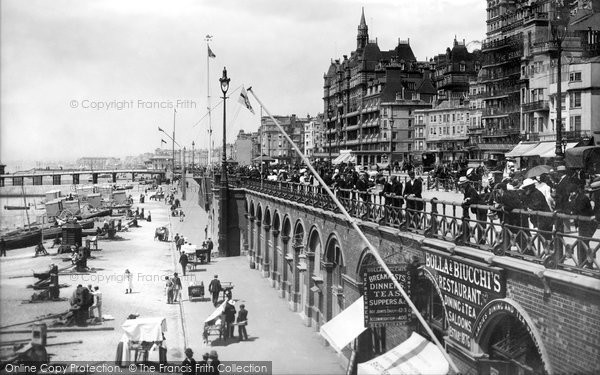 Brighton, King's Road And The Arches 1902