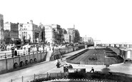 Brighton, King's Road Looking East 1902