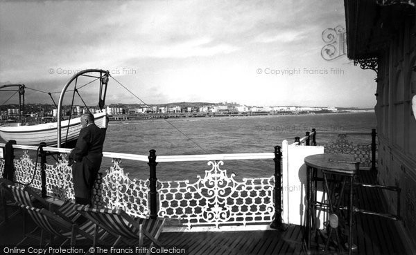 Brighton, Looking East From The Pier c.1955