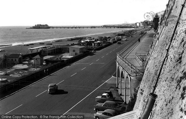 Brighton, Madeira Drive c.1955