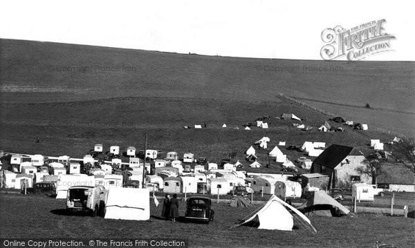 Brighton, Municipal Camping Ground c.1955