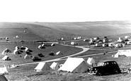Brighton, Municipal Camping Ground Sheepcote Valley c.1955