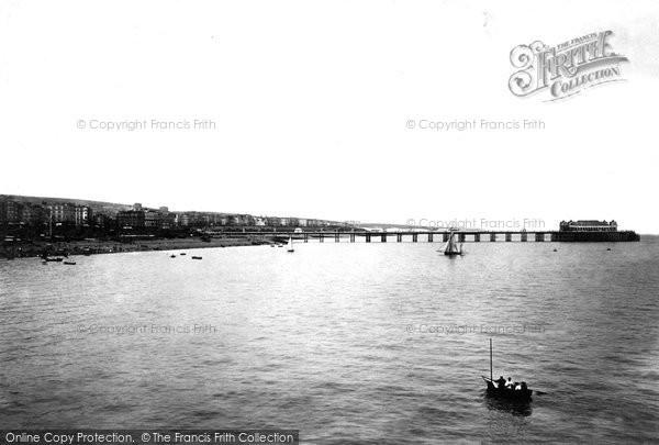 Brighton, Palace Pier And Coast 1902