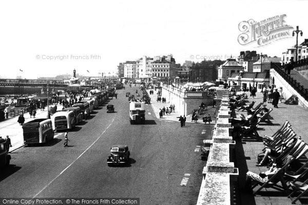 Brighton, Promenade c.1955