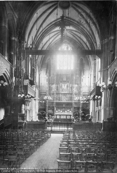 Brighton, St Martin's Church Interior 1889