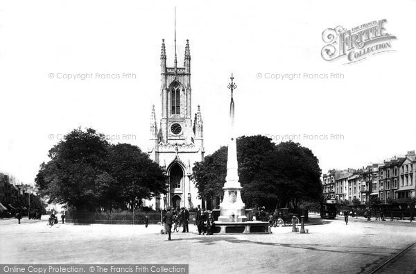 Brighton, St Peter's Church 1902