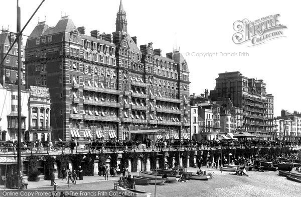 Brighton, The Metropole And Grand Hotels 1890