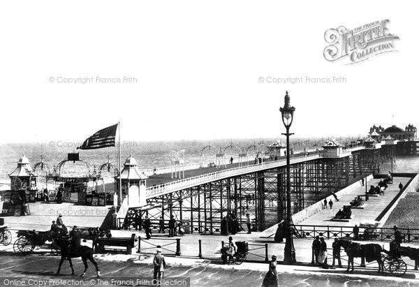 Brighton, The Palace Pier 1902
