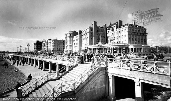 Brighton, The Promenade c.1955
