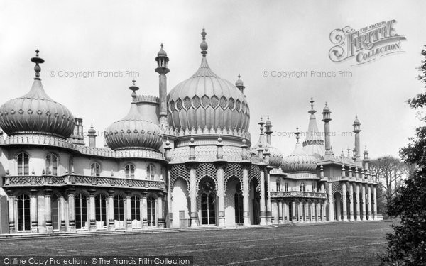 Brighton, The Royal Pavilion 1889