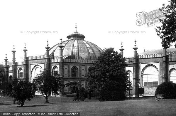 Brighton, The Royal Pavilion, Riding House Dome 1902