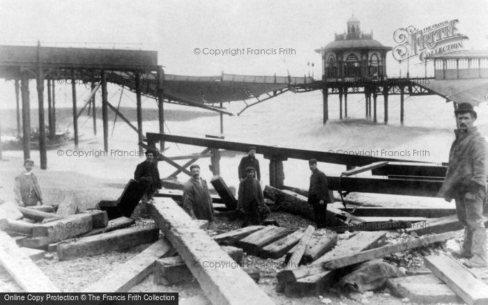 Brighton, The West Pier c.1896