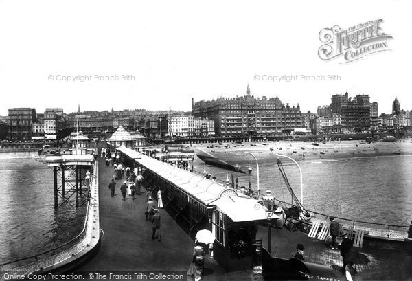 Brighton, View From West Pier 1902