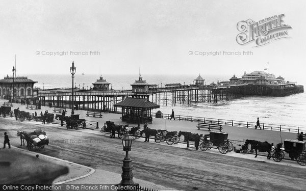 Brighton, West Pier 1894