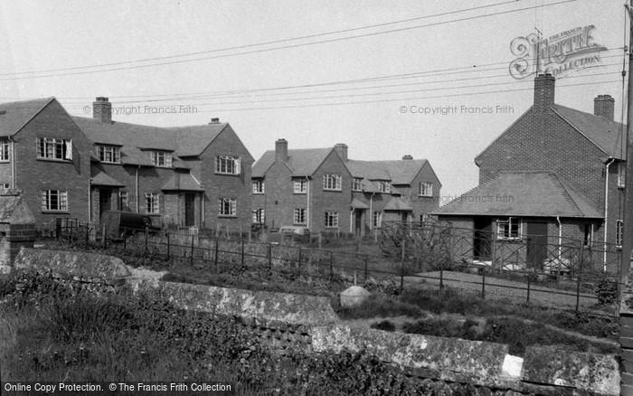 Brimpton, New Housing Estate 1952