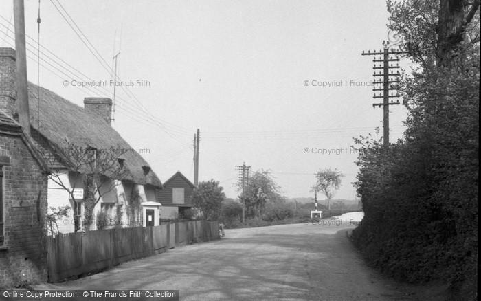 Brimpton, Post Office 1952