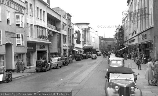 Photo of Bristol, Broadmead c1953