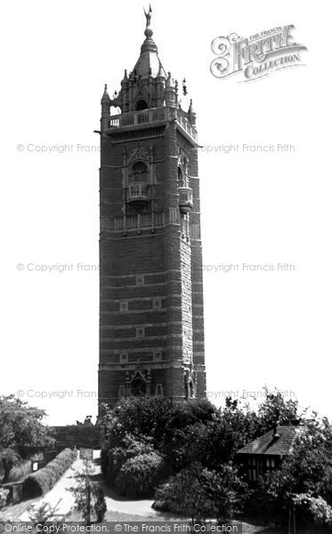 Photo of Bristol, Cabot Tower c1950