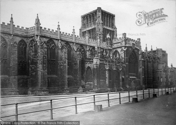 Bristol, Cathedral c.1880