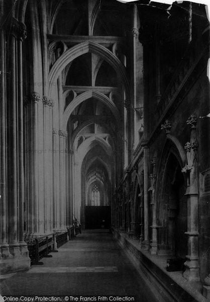 Bristol, Cathedral Nave 1890