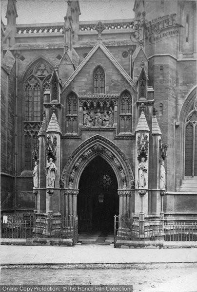Bristol, Cathedral Porch c.1880