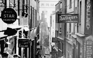 Bristol, Christmas Steps c.1950