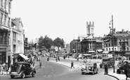 Bristol, City Centre 1950