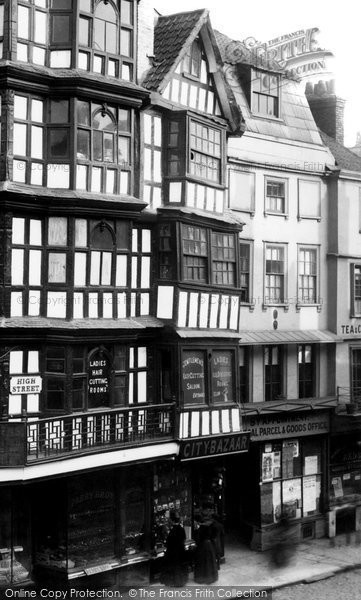 Bristol, High Street 1890