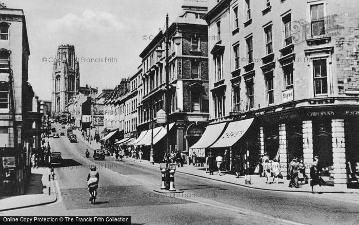 Bristol, Park Street c.1950