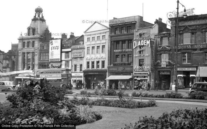 Bristol, St Augustine's Parade c.1950