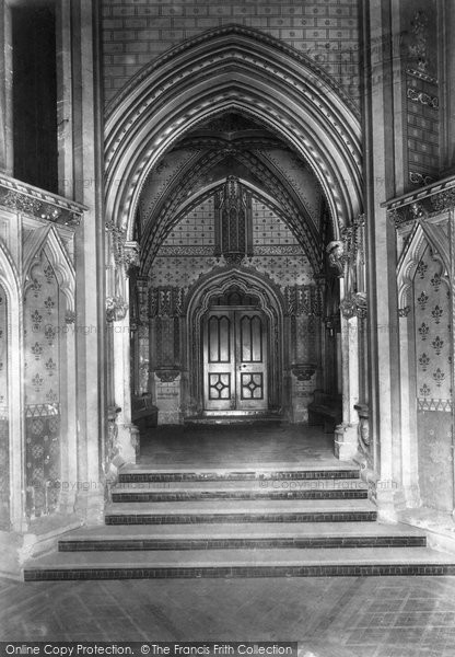 Bristol, St Mary Redcliffe North Porch 1901