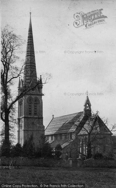 Bristol, Stoke Bishop Church c.1890