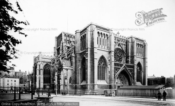 Bristol, The Cathedral 1887