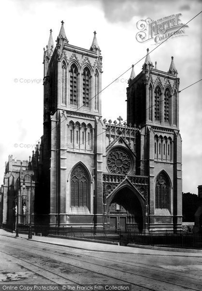 Bristol, The Cathedral 1900