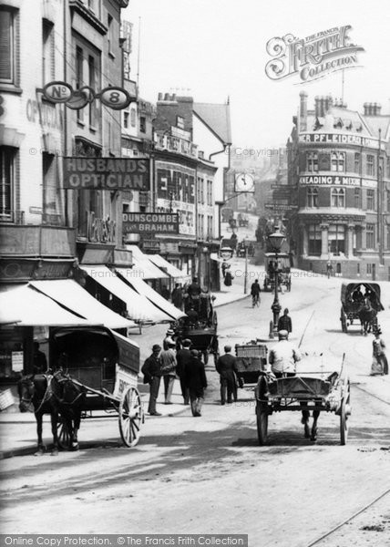 Bristol, The City Centre 1900