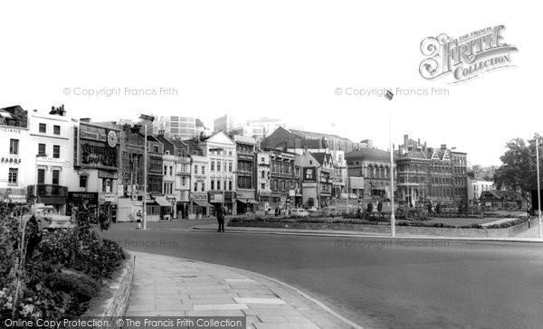 Bristol, The City Centre c.1960