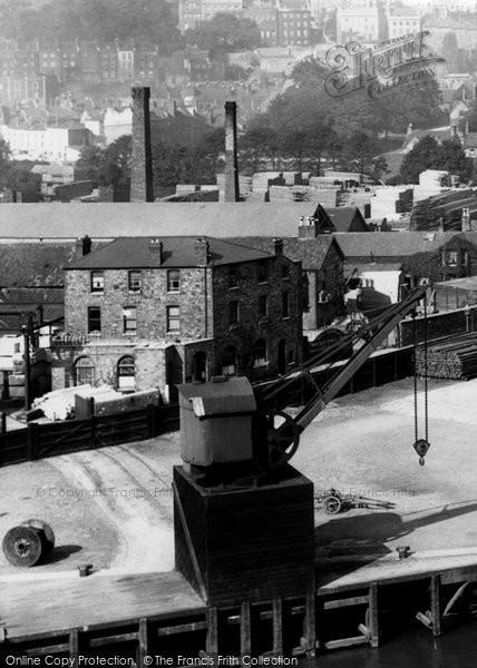 Bristol, The Docks 1901