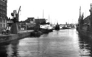 Bristol, The Docks 1953
