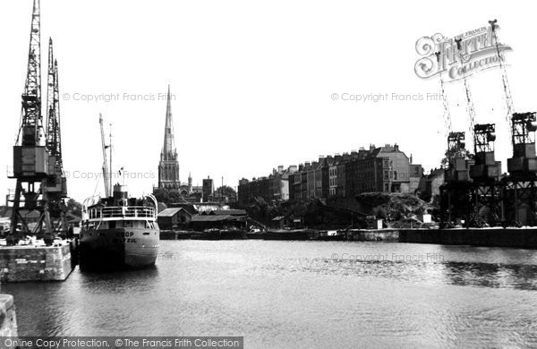 Bristol, The Docks c.1950
