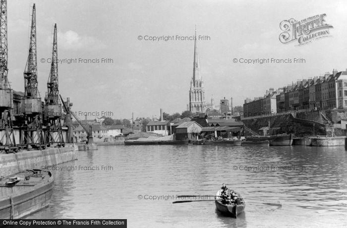 Bristol, The Harbour c.1935